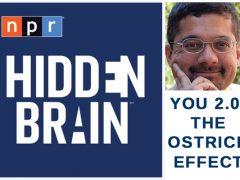 Hidden Brain Podcast - The Ostrich Effect - Listen on WolfMind